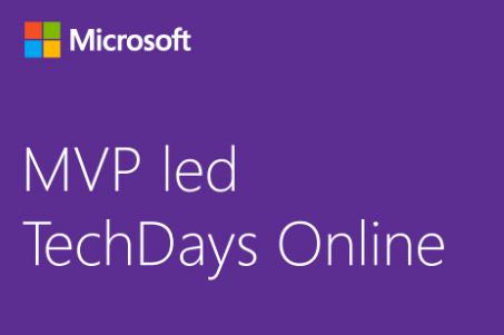 Don't miss MVP led TechDays Online!